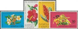 Samoa SG319-22 Seventh Anniversary of Independence set of 4
